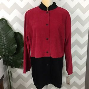 Vintage NWT tunic top long sleeve size large